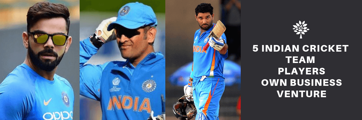 Fashion 5 Indian Cricket Team Players Own Business Venture